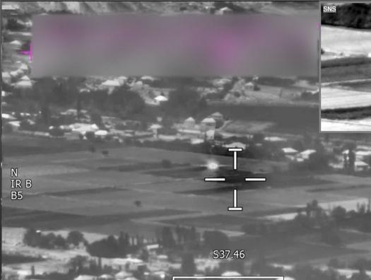 Уничтожена еще одна огневая точка армянской армии