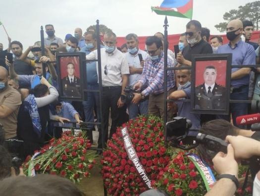 Генерал Гашимов и полковник Мирзоев похоронены в Баку