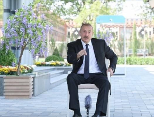 Ильхам Алиев властям Армении: «Попробуйте признать независимость «НКР»! Вот только попробуйте!»