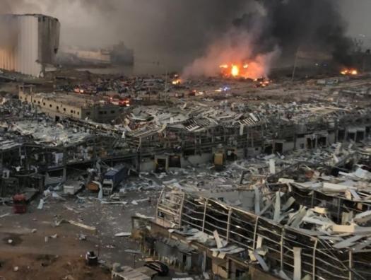 Бейрут в слезах