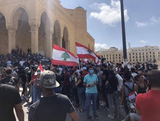 Ливан в огне, масса за мессу Парижу