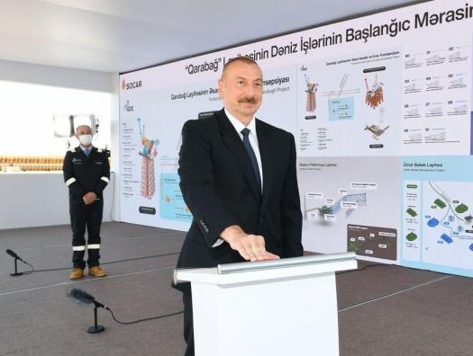 Ильхам Алиев: «Азербайджан возвращается на покинутый «Карабах»... И Карабах наш!»