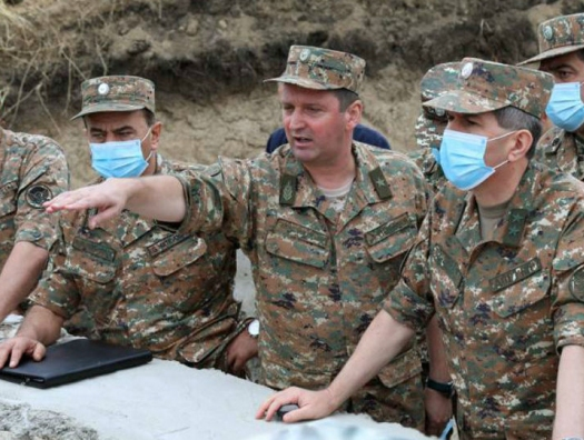 Глава армянского Генштаба у карабахских сепаратистов