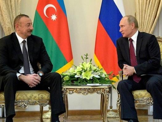 Ильхам Алиев позвонил Владимиру Путину
