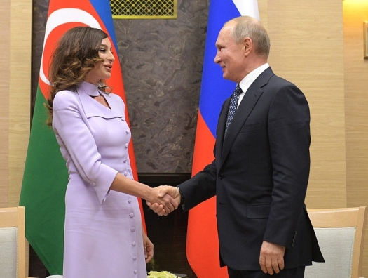 Владимир Путин поздравил Мехрибан Алиеву: «Вы настоящий друг России…»