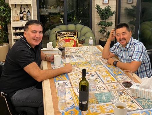Самый богатый человек Казахстана примкнул к Саакашвили