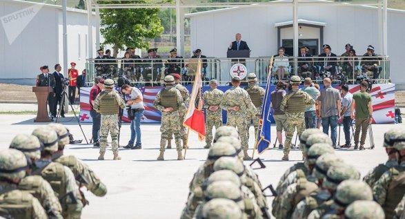 Центр боевой подготовки Сил обороны Грузии назвали именем героя войны c Россией