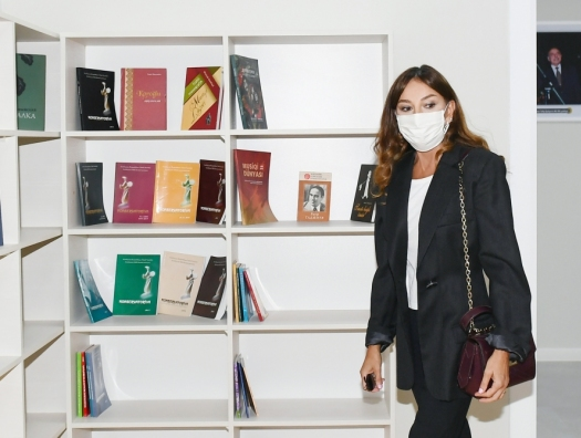 Мехрибан Алиева на открытии нового здания школы искусств в Баку