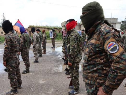 Батальон сирийских армян перебросили в Карабах