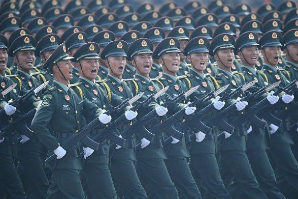 Милитаризация Китая: более трех миллионов китайцев призовут на военную службу в этом году