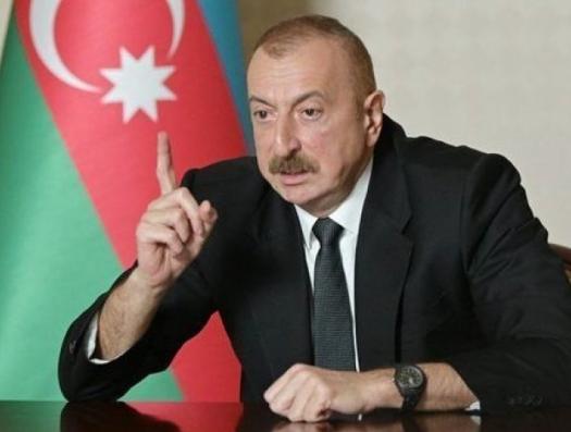 Ильхам Алиев заявляет, что Азербайджан остановит Пашиняна