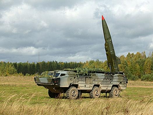 Армения применила тактический ракетный комплекс «Точка-У»