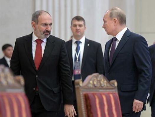 Пятый звонок Пашиняна Путину