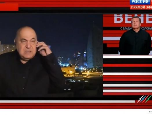 Чингиз Абдуллаев вышел к Соловьеву: «Сирийских боевиков не пустили бы сюда... Началась бы мясорубка»