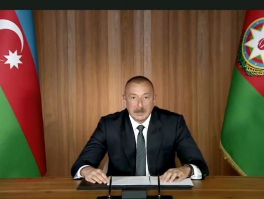Ильхам Алиев: «На ведущих российских каналах оскорбляют азербайджанский народ и президента»