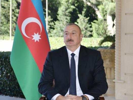 Ильхам Алиев: «Армянские войска пытались вернуть Гадрут»