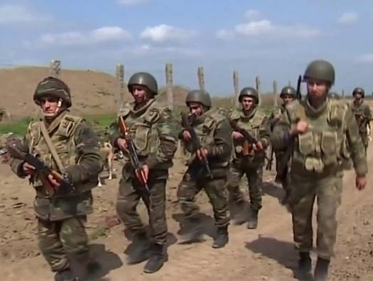 Азербайджанская армия не попала в окружение