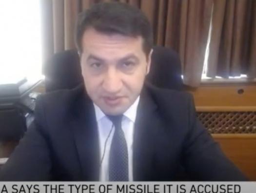 Хикмет Гаджиев в эфире Аль-Джазиры: «Как вы сказали, Степанакерт? Название города Ханкенди!»