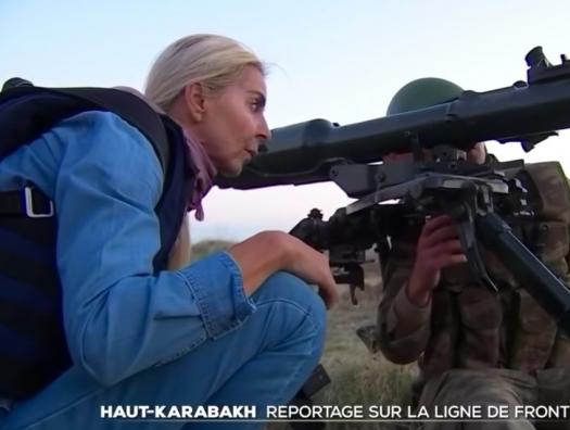 Армяне подстрелили нашу первую ласточку в Париже
