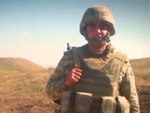 Лейтенант Атаев: «Горжусь тем, что участвую в освобождении наших земель»