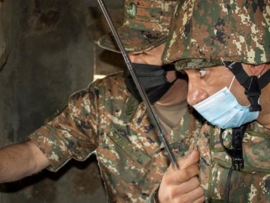 Армянская сторона сообщает: боестолкновения идут в Аскеране