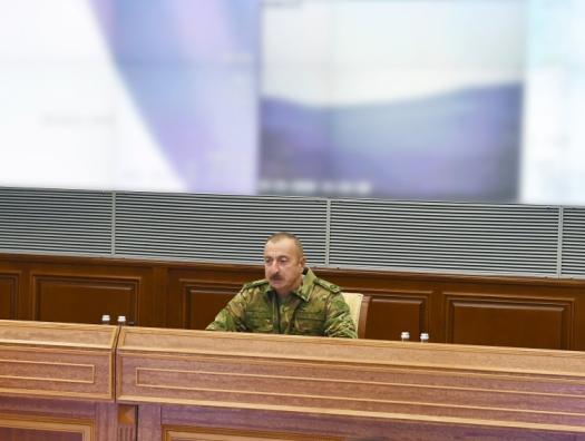 Ильхам Алиев заявил об освобождении части Кельбаджарского района