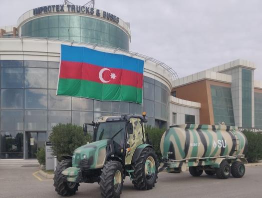 Поддержка армии Азербайджана от компании «Improtex Group»