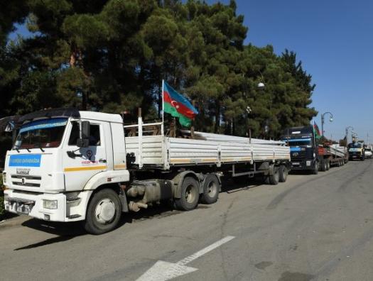 «Азеришыг» в освобожденных селах Карабаха