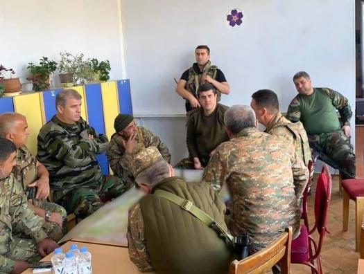 Карабахские сепаратисты перенесли свой штаб в детский сад