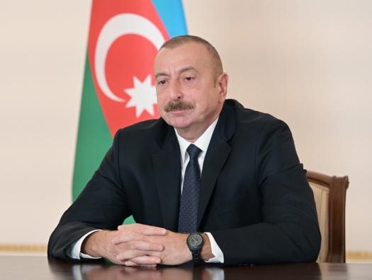 Ильхам Алиев: Российская военная база снабжает армянскую армию