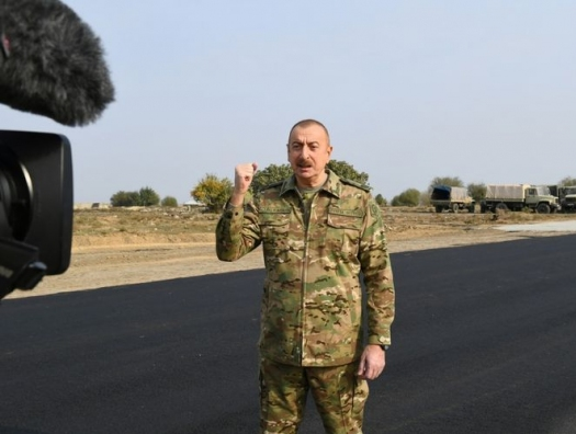 Ильхам Алиев: Азербайджан построит дорогу из Физули в Шушу