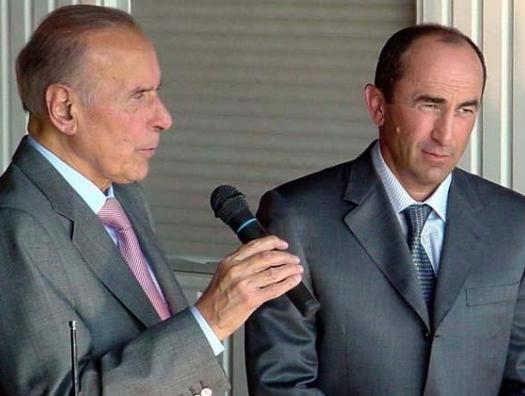 Гейдар Алиев: «Надеюсь, вы руку не приложили?» Кочарян: «Что вы, Гейдар Алиевич...»