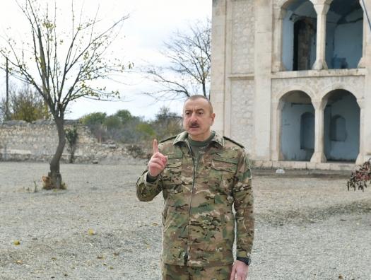 """Ильхам Алиев: """"Агдамцы думали, почему не освобождается Агдам?"""""""