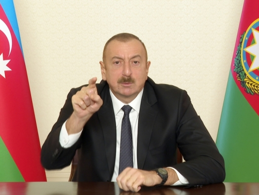 Ильхам Алиев: «Коллективный Пашинян сдал Армении Кельбаджар»
