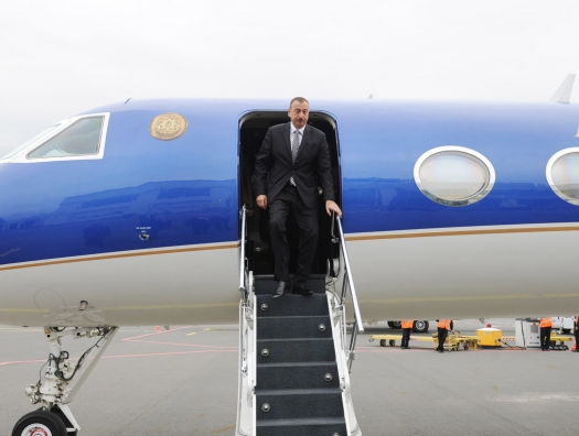 Самолет Алиева приземлился, а Пашинян кружил над Тулой