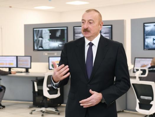 """Ильхам Алиев: """"Негативные явления происходят именно из-за бесконтрольности!"""""""
