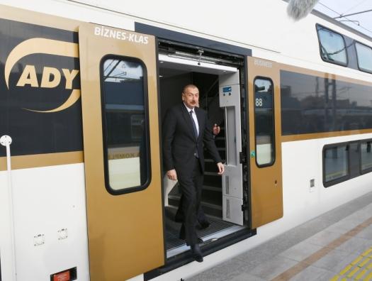 Поезда из Баку отправятся в Шушу и Нахчыван