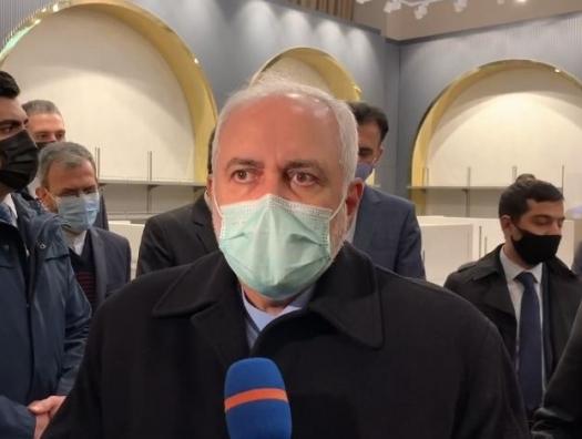 Джавад Зариф уже в Баку