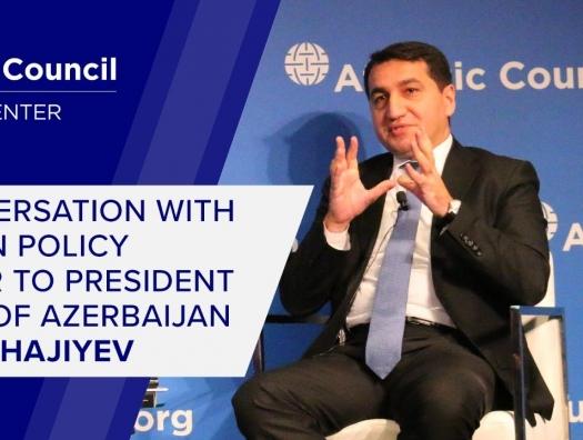 """Вашингтонский Совет спросил помощника президента Азербайджана: """"Что вы ожидаете от США?"""""""