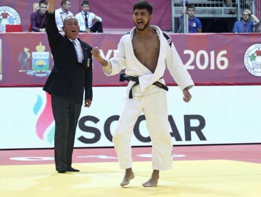 Азербайджанский дзюдоист победил на турнире «Большого шлема» в Тель-Авиве