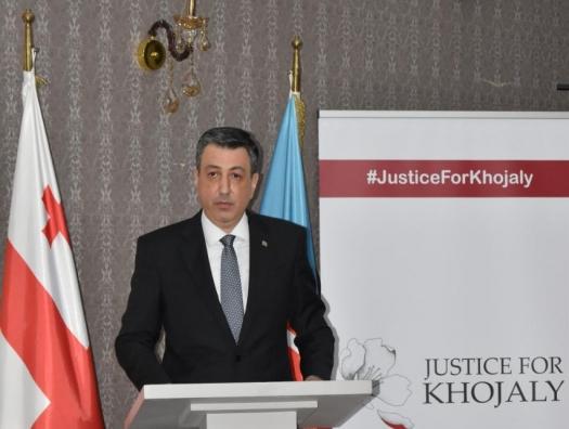 В Тбилиси почтили жертв Ходжалинского геноцида