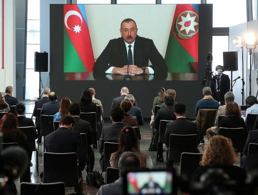 Ильхам Алиев: Вопрос о статусе Карабаха надо исключить из повестки