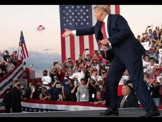 Трамп стал лидером оппозиции в США