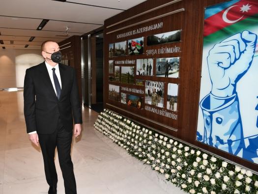 Ильхам Алиев вдохнул новую жизнь в Каспар