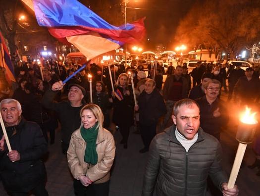 Митинг в центре Еревана: «Россия оккупировала Армению!»