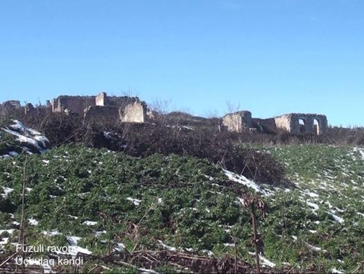 Минобороны показало село Учбулаг в Физули