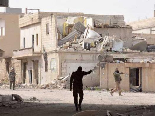 Как главбух Ахмедов из исполнительной власти в Сирии воевал
