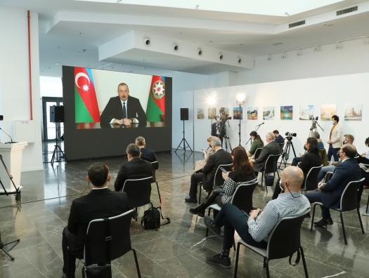Мир Ильхама Алиева, тот образ будущего