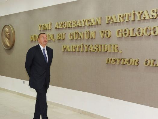 Политические партии одна за другой вливаются в ряды партии Ильхама Алиева