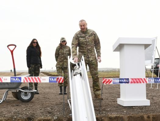 """Задуманные президентом """"крылья для Карабаха"""""""